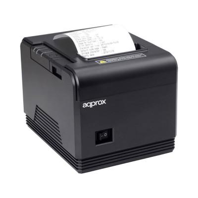 Thermal Bead Printer Approx appPOS80AM 80mm USB/RS232 Black
