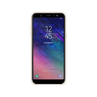 Funda Dual Layer Original Samsung A6 2018 Dorada (EF-PA600CFE)