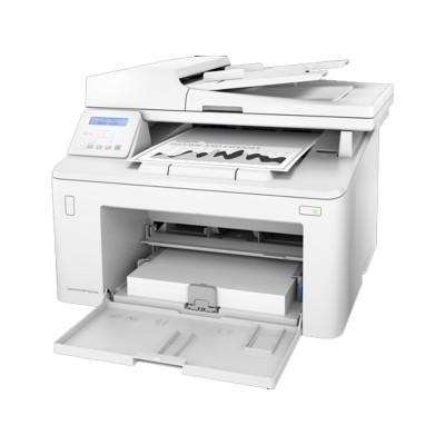 Impressora Multifunções Monocromática HP LaserJet Pro MFP M227sdn Branca