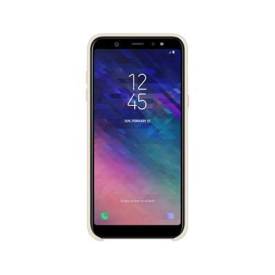Capa Dual Layer Cover Original Samsung A6+ 2018 EF-PA605CFE Dourada