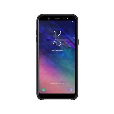 Capa Dual Layer Cover Original Samsung Galaxy A6+ 2018 EF-PA605CBE Preta