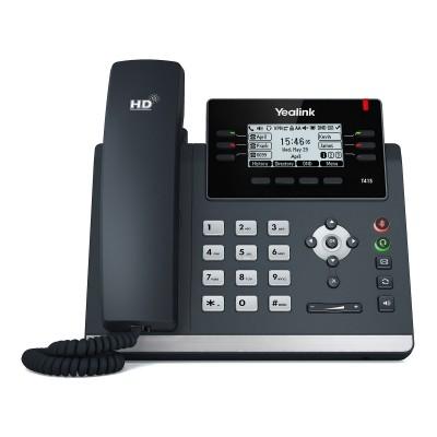 Telefone Fixo Yealink SIP-T41S Preto