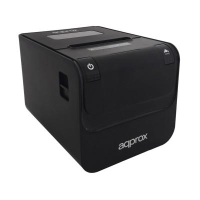Thermal Receipt Printer Approx appPOS80AMUSE 80mm USB/RS232/RJ45 Black