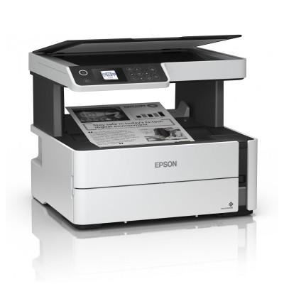Impressora Multifunções Monocromática Epson EcoTank ET-M2140 Branca