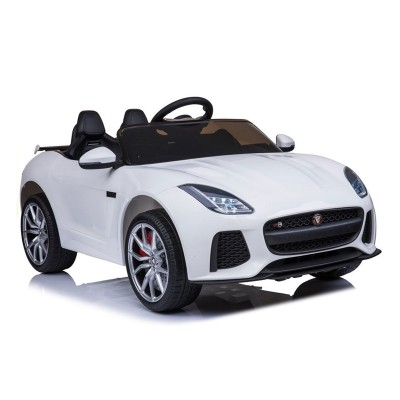 Electric Car Jaguar F-Type 12V White