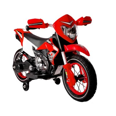 Electric Motorcycle FB-6186 6V Red