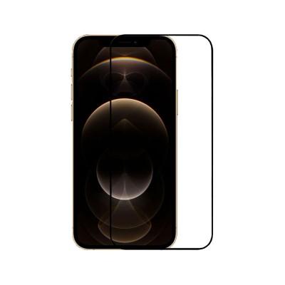 Tempered Glass Film iPhone 12 Pro Max Fullscreen Black