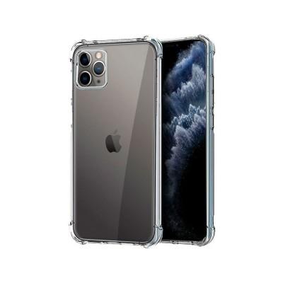 Silicone Cover Anti-Choque iPhone 11 Pro Transparent