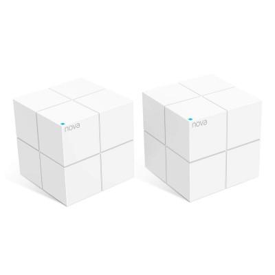 Mesh System Tenda Nova MW6 Dual Band AC1200 White (2 units)