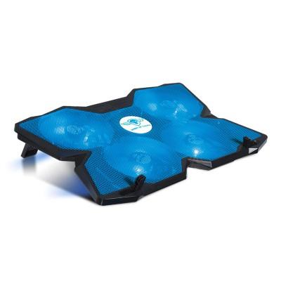 "Cooling Pad Spirit Of Gamer Airblade 500 17.3"" LED Blue"