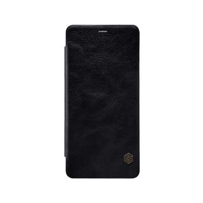 Nillkin Flip Cover Case Samsung A8 Plus A730 Black