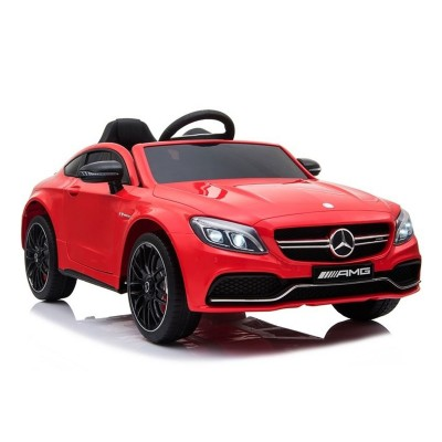 Electric Car Mercedes C63 12V Red