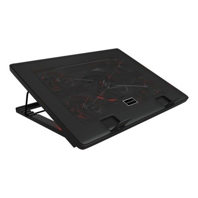 "Cooling Pad Mars Gaming MNBC2 17.3"" LED Red"