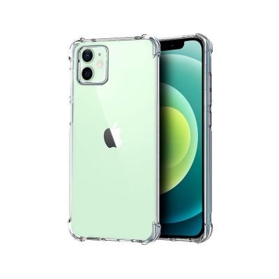 Capa Silicone Anti-Choque iPhone 12/12 Pro Transparente