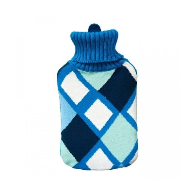 Hot Water Bag EDM 2L Blue Squares