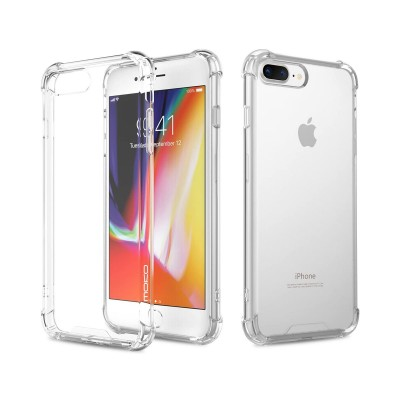 Reinforced Silicone Cover Apple iPhone 7/8 Plus Transparent