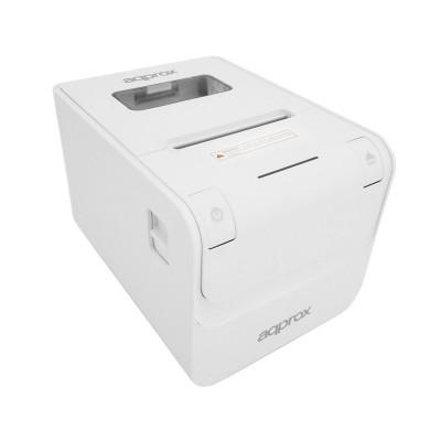 Impressora de Talões Térmica Approx appPOS80AMUSEWH 80mm USB/RS232/RJ45 Branca