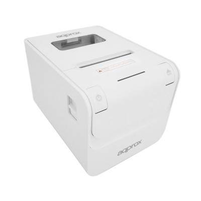 Thermal Receipt Printer Approx appPOS80AMUSEWH 80mm USB/RS232/RJ45 White