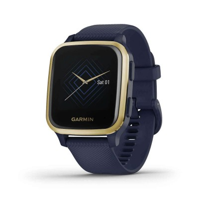 Smartwatch Garmin Venu Sq Music Edition Gold/Blue