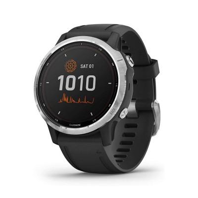 Smartwatch Garmin Fenix 6S Solar Prateado/Preto