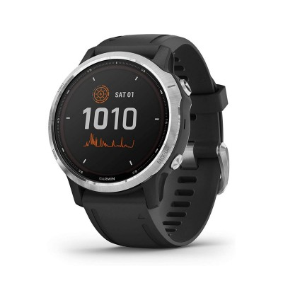Smartwatch Garmin Fenix 6S Solar Silver/Black