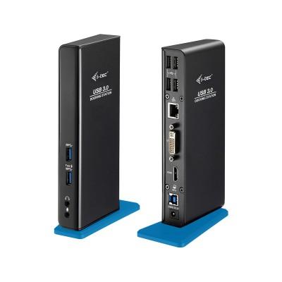 Dock Station i-tec USB 3.0 Preto (U3HDMIDVIDOCK)