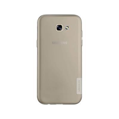 Capa Silicone Nillkin Original Samsung Galaxy A5 2017 A520 Transparente Escura
