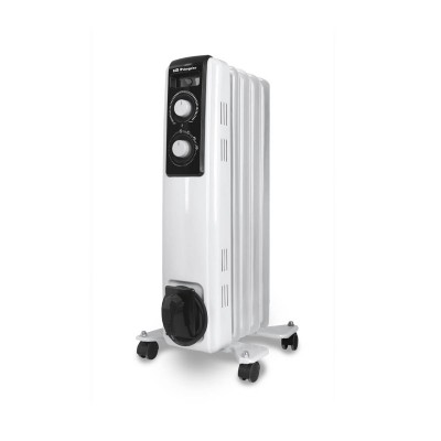 Oil Heater Orbegozo RF-1000 1000W White