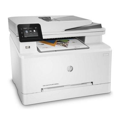 Multifunction Printer HP Color LaserJet Pro M283fdn White