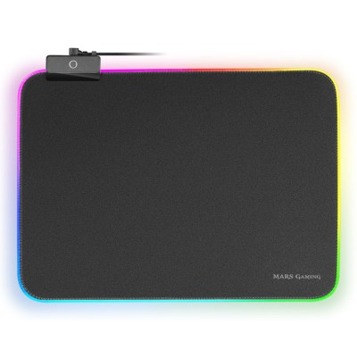 Mousepad Mars Gaming RGB Chroma 12 Modes 365x265mm (MMPRGBL)