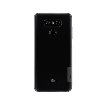 Funda Silicona Nillkin LG G6 Transparente Oscuro