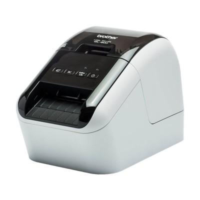 Impressora de Etiquetas Térmica Brother QL-800 62mm USB Branca