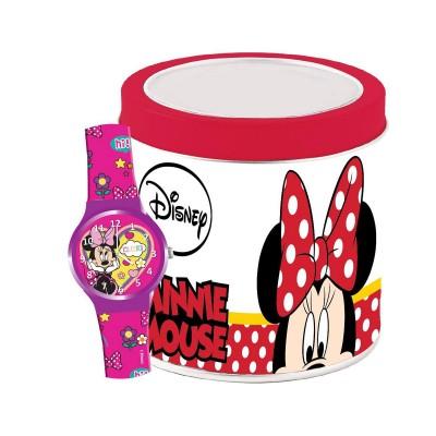 Relógio de Criança Walt Disney Minnie Rosa