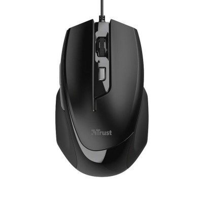 Mouse Trust Voca Comfort 2400 DPI Black