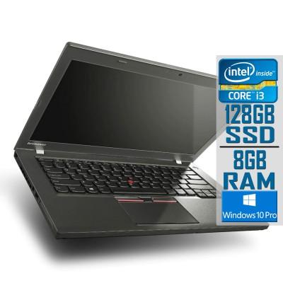 "Laptop Lenovo ThinkPad T450 14"" i3-5010U SSD 128GB/8GB Refurbished"