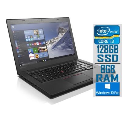 "Portátil Lenovo ThinkPad T460 14"" i3-6100U SSD 128GB/8GB Recondicionado"