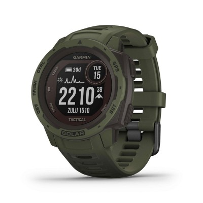 Smartwatch Garmin Instinct Solar Tactical Edition Green