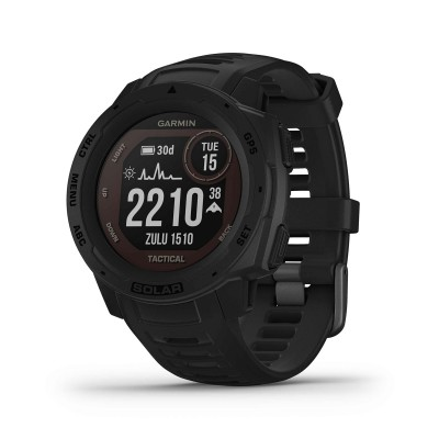 Smartwatch Garmin Instinct Solar Tactical Edition Black