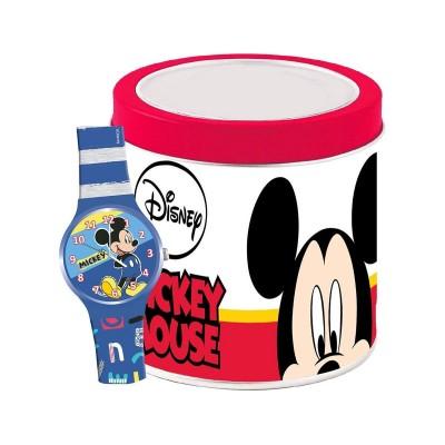 Relógio de Criança Walt Disney Mickey Mouse Azul