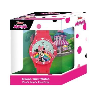Relógio de Criança Silicone Walt Disney Minnie