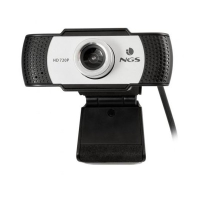 Webcam NGS Xpresscam 720 w / Microphone Black