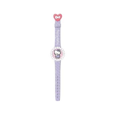 Relógio de Criança Hello Kitty Roxo