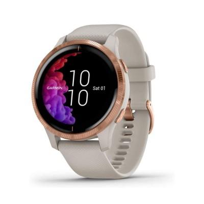 Smartwatch Garmin Venu Bege/Rosa Dourado