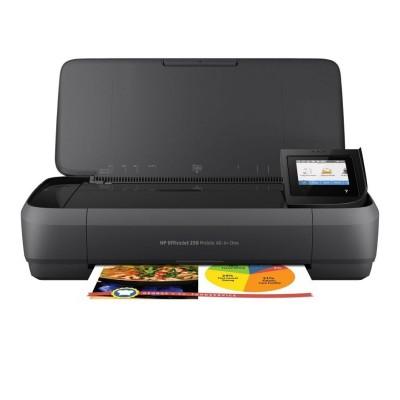 Impressora Multifunções Portátil HP OfficeJet 250 Preta