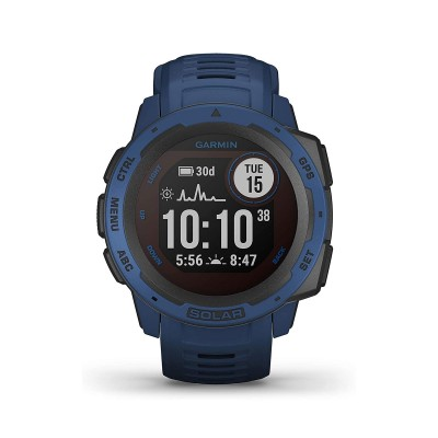 Smartwatch Garmin Instinct Solar Blue