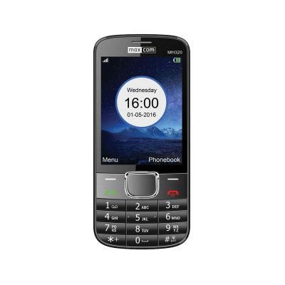 Telemóvel Maxcom MM320 Single SIM Preto Recondicionado