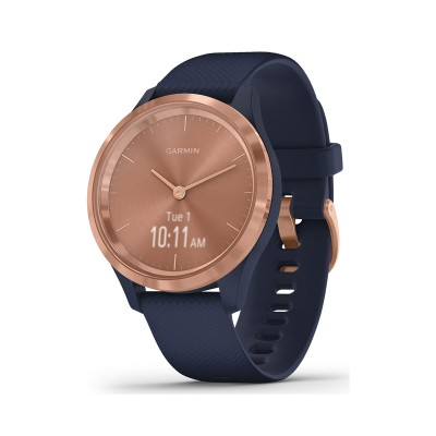 Smartwatch Garmin Vivomove 3S 39mm Azul/Rosa Dourado