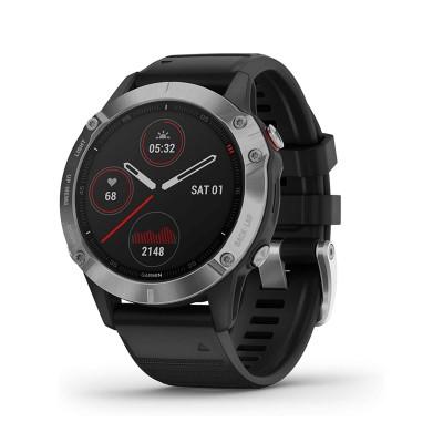 Smartwatch Garmin Fenix 6 Prateado/Preto