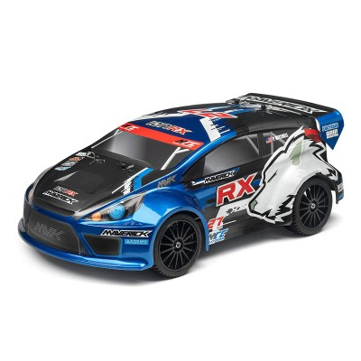 Remote Control Car Maverick Rally ION RX 4WD Blue (MV12805)