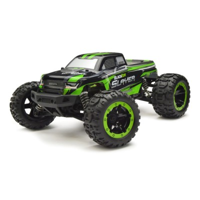 Remote Control Car BlackZon Slayer Monster Truck 4WD Green (540000)